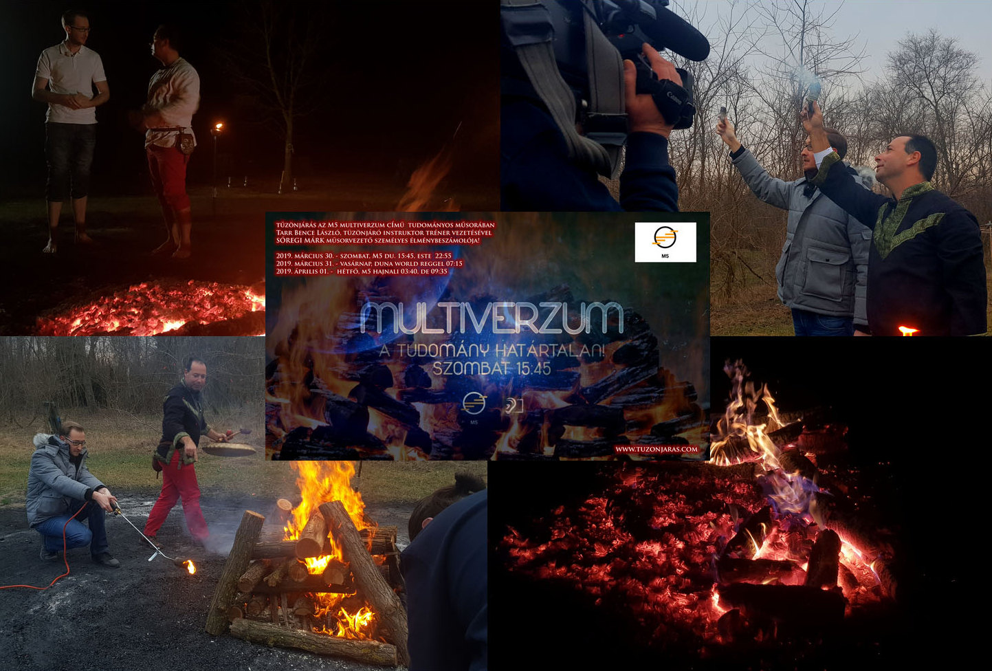 multiverzum tv program firewalking tűzönjárás