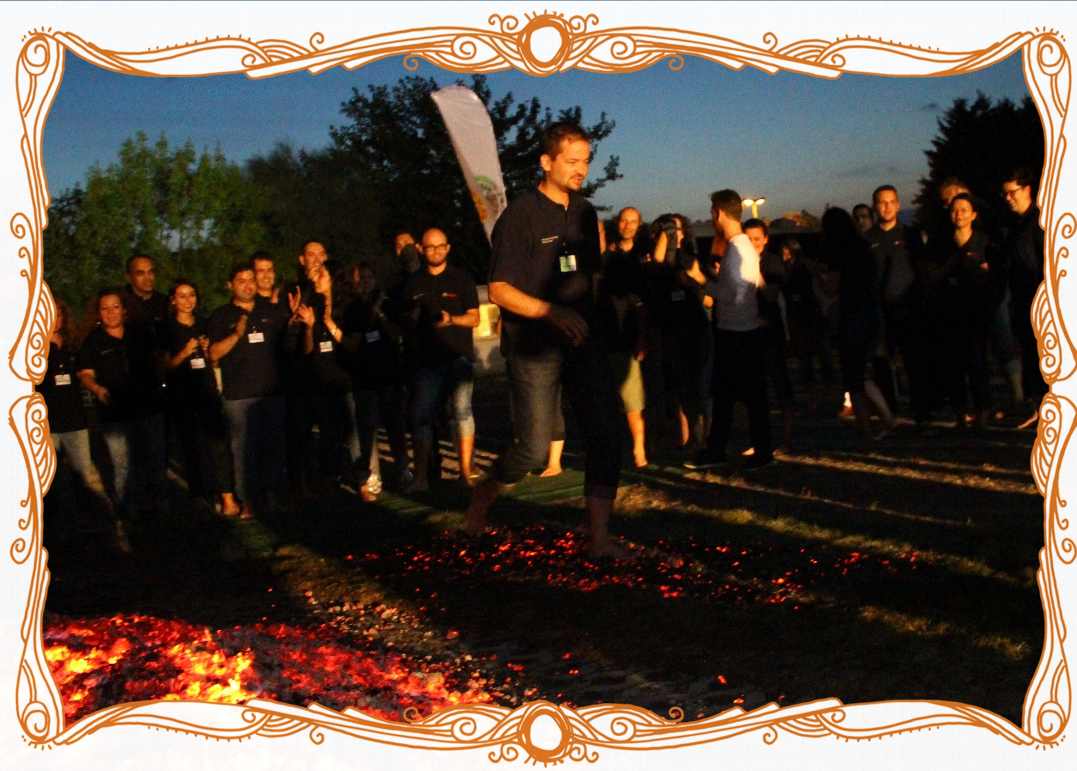 CORPORATE FIREWALKING