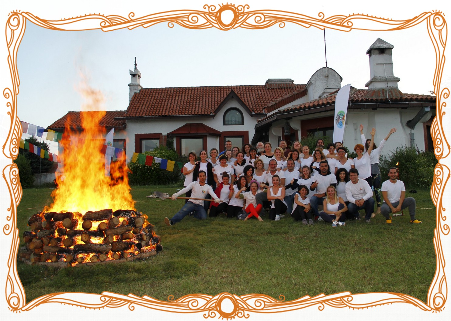 Turkey Firewalking